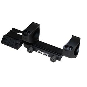 "Warne R.A.M.P. Cantilever AR-15 1"" Scope Mount Aluminum Matte Black RAMP1"