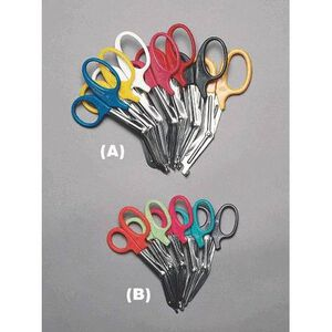 Emergency Medical International EMS Shears 7 1/4 Inches Neon Pick 1095