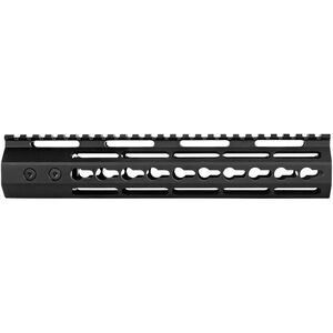 "Trinity Force AR-15 Echo 10"" Key-Mod Rail Freefloat Handguard Aluminum Black"