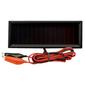 American Hunter Economy 6V Solar Charger Trickle Charge Alligator Clips Mounting Bracket