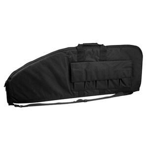 "VISM Scoped Rifle Soft Case 52"" with Magazine Pockets Nylon Black CVS2907-52"