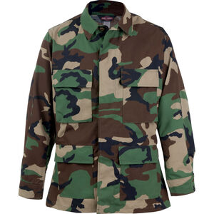 Tru-Spec BDU Coat 50/50 CORDURA Nylon/Cotton Rip-Stop