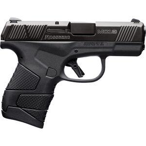 "Mossberg MC1sc 9mm Luger Subcompact Semi Auto Pistol 3.4"" Barrel 7 Rounds 3-Dot Sights No Manual Safety Polymer Frame Black"