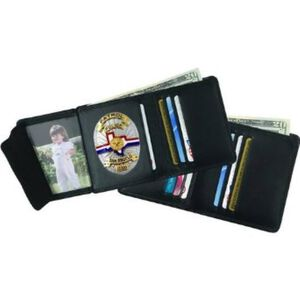 Strong Leather Company Hidden Badge Wallet 79520-0182