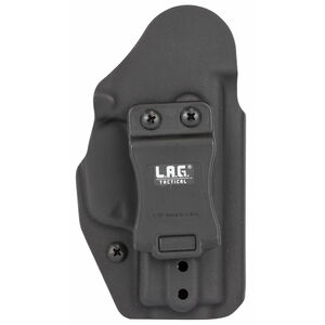 LAG Tactical Liberator MK II Series OWB/IWB Holster for SIG Sauer P365 Models Ambidextrous Draw Kydex Construction Matte Black Finish