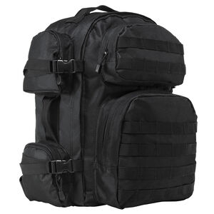 NcSTAR Tactical Backpack Nylon Hydration Compartment MOLLE Compatable Black