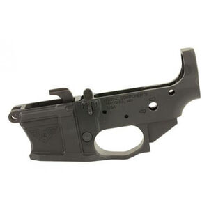 Nordic Components NCPCC 9mm Luger AR-15 Stripped Lower Receiver Uses GLOCK Magazines Billet Aluminum Black