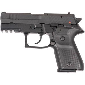 "FIME Group Rex Zero 1CP 9mm Luger Compact Semi Auto Pistol 3.85"" Barrel 15 Rounds Metal Frame Black Finish"