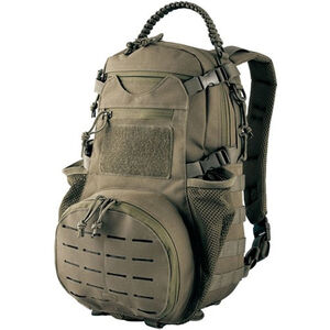 Red Rock Gear Ambush Pack 22 Liter Mesh Ventilated Back Panel Hydration Compatible 600D Polyester OD Green