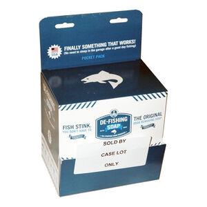 De-Fishing Soap Odor Removing Biodegradable Box of 80 .169oz pocket Packs