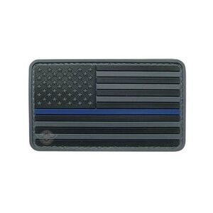 5IVE Star Thin Blue Line US Flag Morale Patch 6782000