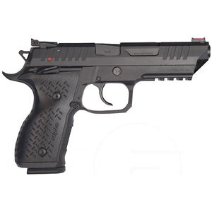 "FIME Group REX Alpha 9mm Luger Semi Auto Pistol 5"" Barrel 17 Rounds Steel Frame and Slide Black Finish"