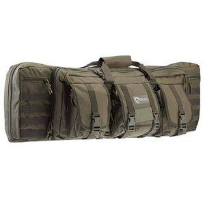"""Drago Gear Tactical Double Gun Case 42"""" Nylon Green 12-323GRN"""