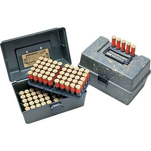 MTM Case-Gard Deluxe Shotshell Case Holds 100 Shells Camo