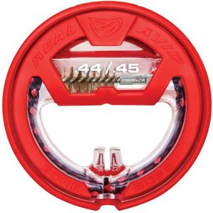 """Real Avid Bore Boss .44/.45 Caliber Single Pass Pull Through Bore Cleaner 12"""" Cable 8.5"""" Mop with Storage Handle"""