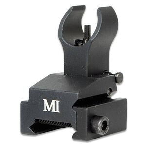 Midwest Industries AR15 BUIS Flip-Up Front Sight Rail Mount Picatinny Black MCTAR-FFR