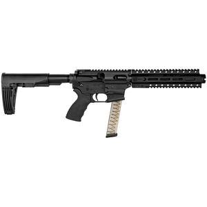 "Diamondback DB9R AR-15 9mm Luger Semi Auto Pistol 7.5"" Barrel 32 Rounds 9"" M-LOK Handguard Black Finish"
