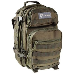 "DRAGO Gear Scout Backpack 16""x10""x10"" 600D Polyester Green 14-305GR"