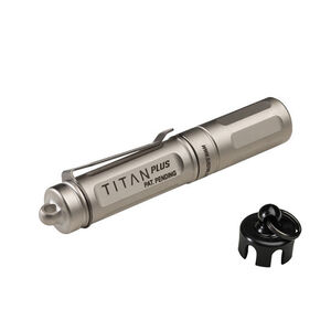 SureFire Titan Plus Ultra-Compact LED Light, AAA, 3 Stage 15/75/300 Lumens