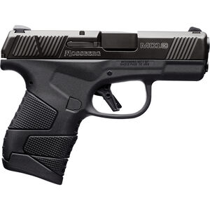 "Mossberg MC1sc 9mm Luger Subcompact Semi Auto Pistol 3.4"" Barrel 7 Rounds 3-Dot Sights No Manual Safety Polymer Frame Black"
