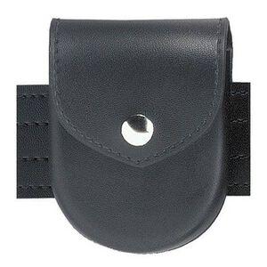 Safariland Model 90 Handcuff Pouch Top Flap Black Snap Plain Black 90-2PBL