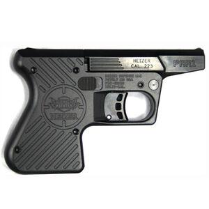 """Heizer Defense Pocket AR Break Action Single Shot Pistol .223 Remington 3.87"""" Barrel One Round Capacity Stainless Steel Barrel/Frame Matte Black Finish PAR1BLK"""