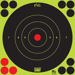 """Pro-Shot Splatter Shot 12"""" Green Bull's-eye Target"""