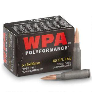 Wolf Polyformance 5.45x39 Ammunition 30 Rounds FMJ 60 Grain