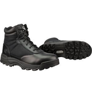 "Original S.W.A.T. Classic 6"" Men's Boot Size 10 Wide Non-Marking Sole Leather/Nylon Black 115101W-10"