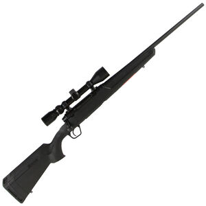 "Savage Axis XP Bolt Action Rifle .25-06 Remington 22"" Barrel 4 Rounds Detachable Box Magazine Weaver 3-9x40 Riflescope Synthetic Stock Matte Black Finish"