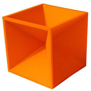 "Do All Outdoors Impact Seal Hot Box 4"" Orange  ISHB4"