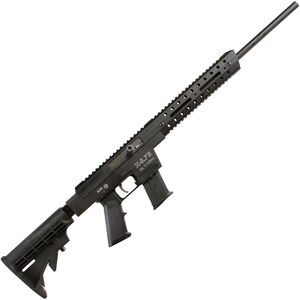 "Excel Arms X-Series X5.7R Semi Automatic Rifle 5.7x28mm 18"" Barrel 25 Rounds Aluminum Construction Collapsible Stock Black"