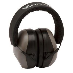 Pyramex VG80 Series Earmuff 25dB Noise Reduction Rating Adjustable Headband Black/Gray Accents