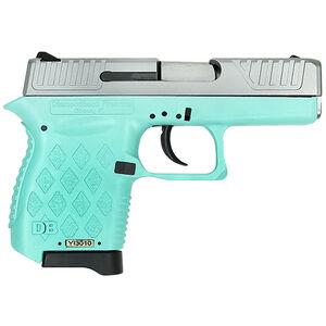 "Diamondback DB9 Semi Auto Pistol 9mm Luger 3"" Barrel 6 Rounds Two Tone Matte Stainless Steel Slide Polymer Frame Mint Finish"