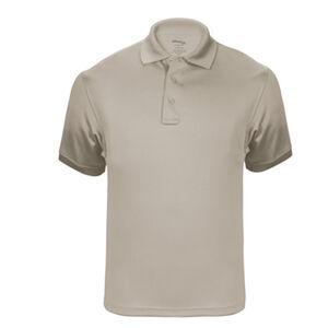Elbeco UFX Tactical Polo Men's Short Sleeve Polo Medium 100% Polyester Swiss Pique Knit Tan