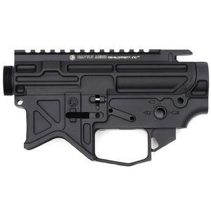 Battle Arms Development AR-15 Stripped Lightweight Billet Upper and Lower Receiver Set Aluminum Black 100-016-158