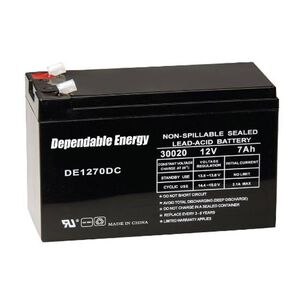 American Hunter Dependable Energy Battery Rechargeable 12 Volts 7 Amps DE30020