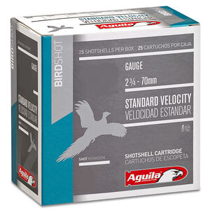 "Aguila Birdshot 16 ga 2-3/4"" #8 Shot 1oz 250 Round Case"