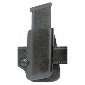 Safariland Model 074 Concealment Magazine Holder Paddle Belt Mount Glock/H&K/Sig/S&W Right Hand Plain Black 074-83-61