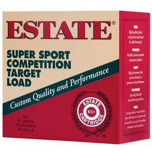 """Estate Super Sport 12 Ga 2.75"""" #9 Lead 1oz 250 Rounds"""