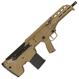 "Desert Tech MDR .308 Winchester Semi Auto Rifle 16"" Barrel 20 Round Magazine Ambidextrous Design Bull Pup Rifle Synthetic Stock Flat Dark Earth"