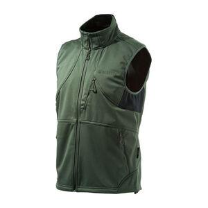 Beretta Men's Soft Shell Fleece Vest Sleeveless Size XX-Large Fleece Green