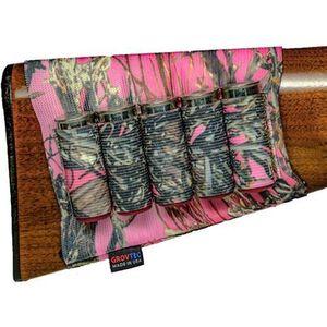 GrovTec Shotgun Buttstock Ammunition Holder TrueTimber Pink Camo