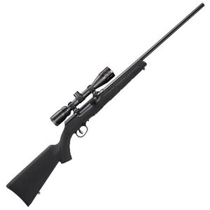 """Savage A17 XP Semi Auto Rifle .17 HMR 22"""" Barrel 10 Rounds Synthetic Stock Bushnell 3.5-10x36 Scope Blued 47011"""
