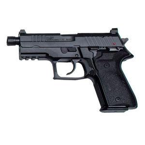 "AREX Rex Zero 1TC Compact Tactical 9mm Luger Semi Auto Pistol 4.9"" Barrel Length 17 Rounds Fixed Sights Picatinny Rail Ambidextrous Safety/Magazine Release Matte Black"