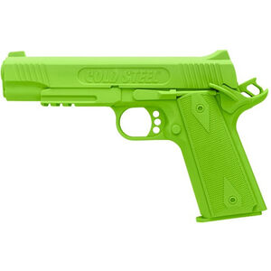 Cold Steel 1911 Rubber Training Pistol Replica Training Aid Polypropylene Lime Green