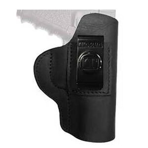 Tagua Gun Leather Super Soft Inside Waistband Holster For GLOCK 26/27/33 Leather Right Hand Black SOFT-330
