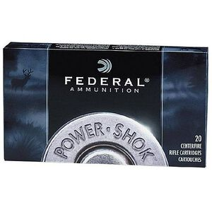 Federal Power-Shok .338 Federal Ammunition 20 Rounds Soft Point 200 Grains 338FJ