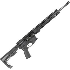 "Radical Firearms AR-15 Semi Auto Rifle 5.56 NATO 16"" SOCOM Barrel 12"" M-LOK Rail Collapsible Stock Black"