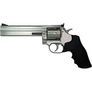 "CZ-USA Dan Wesson 715 Revolver .357 Mag 6"" Barrel 6 Rounds Rubber Grips Stainless Steel"